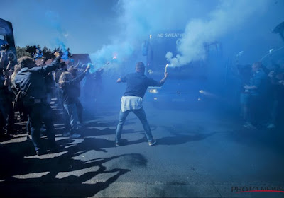 Des supporters du Club de Bruges endommagent sérieusement le bus de leur propre équipe !