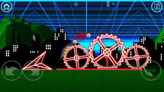 Light racing car Screenshot