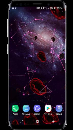Space Particles 3D Live Wallpaper  screenshots 10
