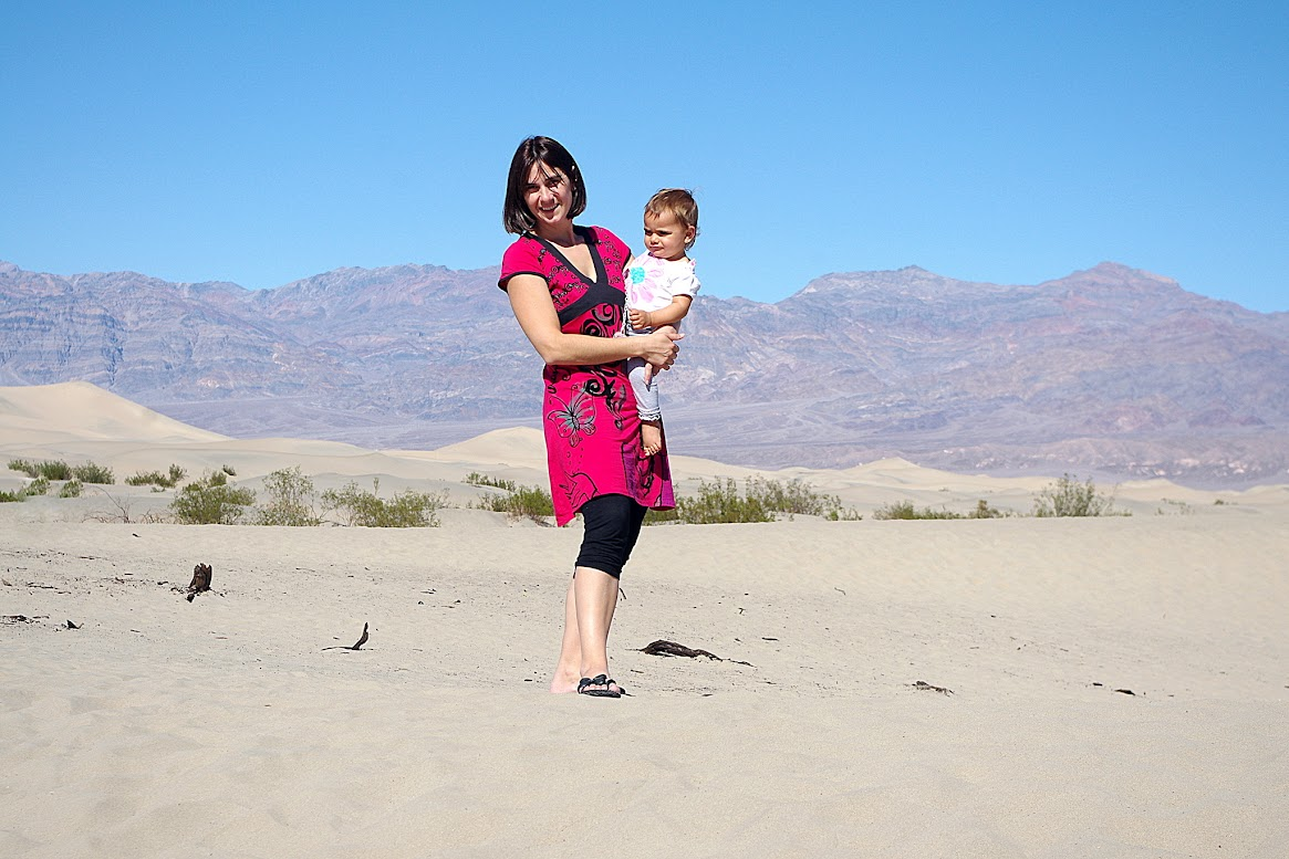 Valle de la Muerte; Dunas planas de Mesquite