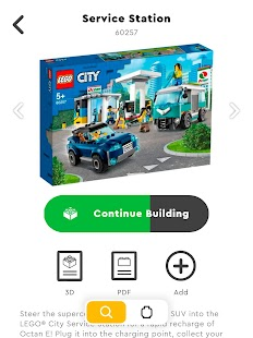 LEGO® Bauanleitungen Screenshot