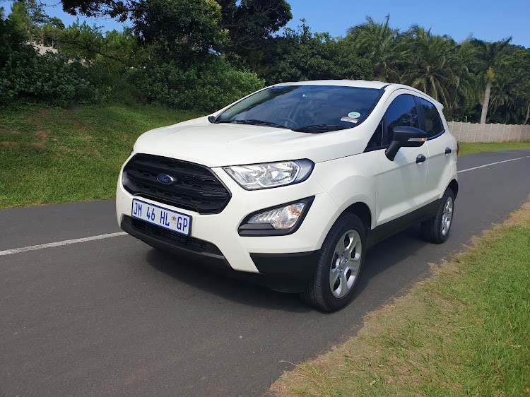 Following a cosmetic nip 'n tuck in 2018, the eight-year old EcoSport still looks fresh and fashionable. Picture: DENIS DROPPA
