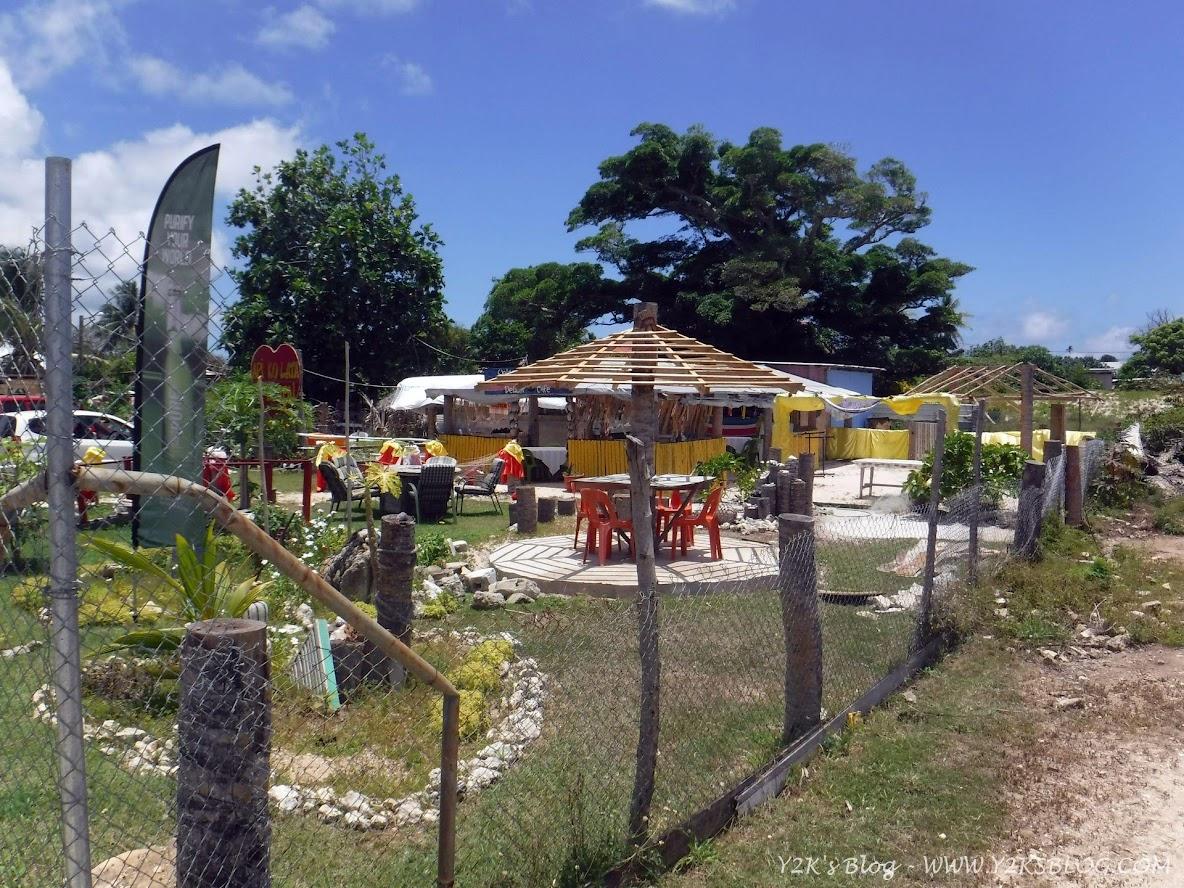 Un graziosissimo bar ristorante di Pangai - Ha'apai