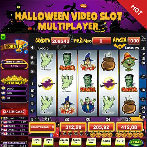 Halloween Caça Niquel Slot Maquininha Multiplayer
