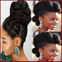 African Natural Hair Style icon
