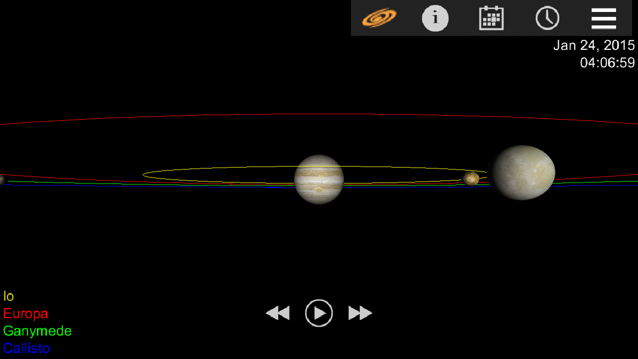Jupiter Simulator Pro- screenshot