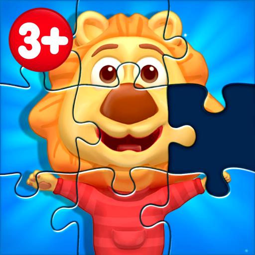 Puzzle Kids - Formas de animais e quebra-cabeças