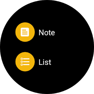Google Keep : notes et listes Capture d'écran