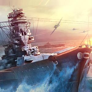 WARSHIP BATTLE3D World War II 3.1.2 by JOYCITY Corp. logo
