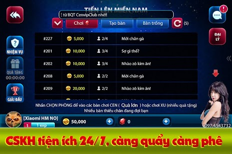 CENCLUB - Game bai doi thuong- screenshot thumbnail