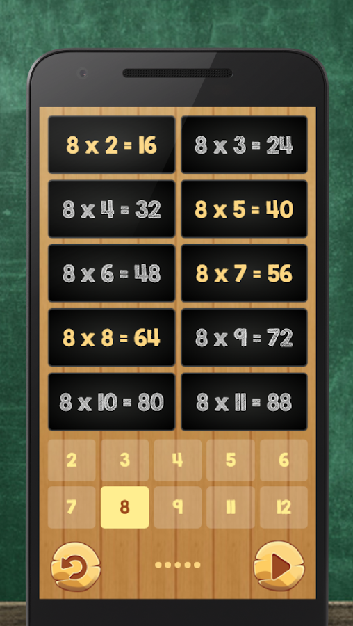 Multiplication Table Kids Math Android Apps on Google Play – Multiplication Table