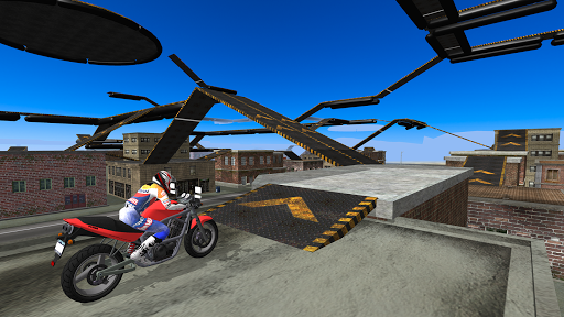 Motorbike Driving Simulator 3D Screenshot