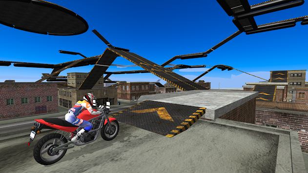 Motorbike Driving Simulator 3D APK screenshot thumbnail 3