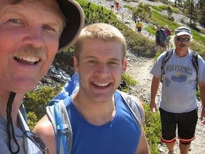 Photo: Yours truly (on left) with Joseph Munaretto of Los Angeles – a fan of Dan's Hiking Pages