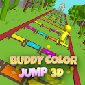 Buddy Color Jump 3D icon