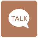 브라운 카카오톡 테마 - 브라운톡 icon