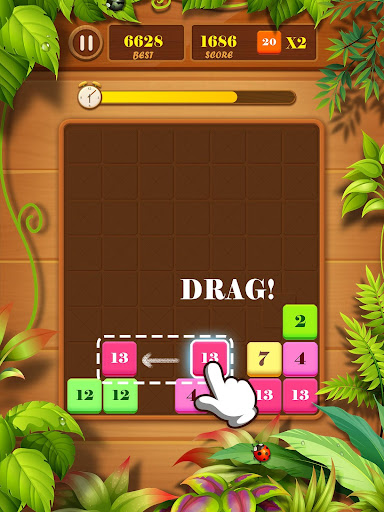 Drag n Merge: Block Puzzle screenshots 13