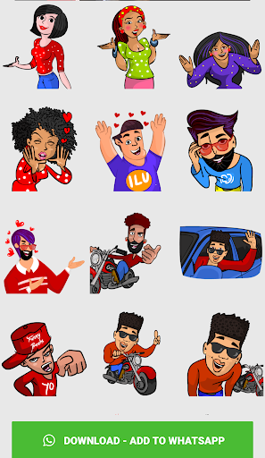 Stickers For Chat - Third Party WAStickerApps sgn_Jan14_2019 screenshots 4