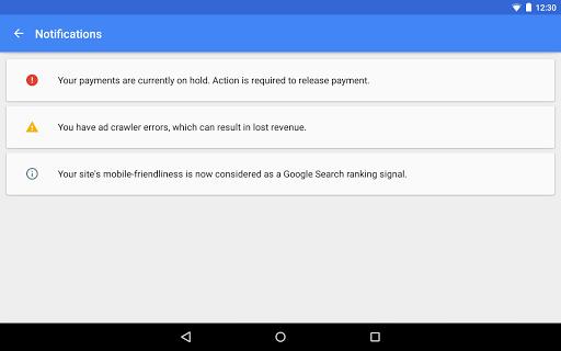 Google AdSense screenshot 12