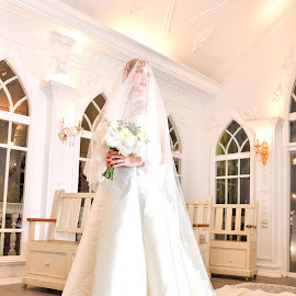 Bride(3) by 敬昕 涂 - Wedding Bride ( bride, dress, 敬昕 涂, weddinh, larissa, portrait, 涂敬昕, people )