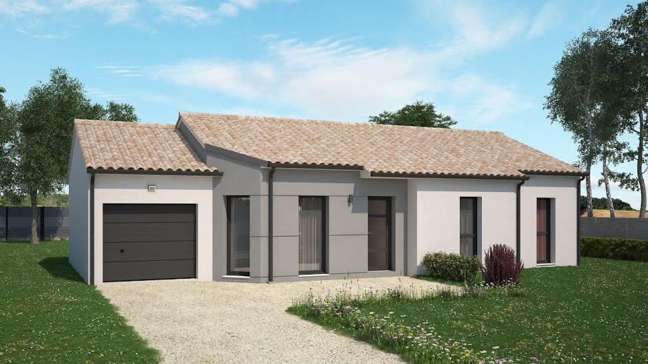 Vente maison 4 pièces 88 m² à Braslou (37120), 154 849 €