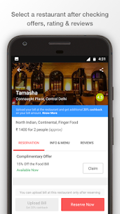 Dineout: Restaurant Booking, Reviews & Food Deals - náhled