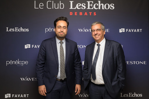 Club Les Echos Prospective avec Mounir Mahjoubi