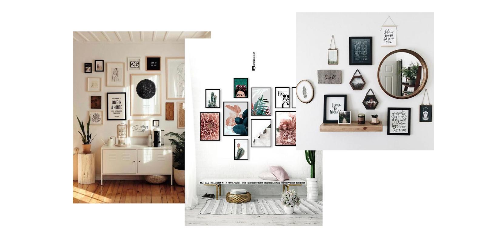 usar as paredes na decoração