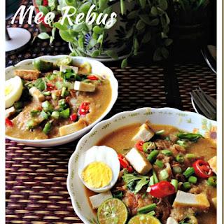 Noodles In Sweet Potatoes Gravy–Mee Rebus (马来卤面).