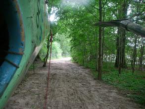 Photo: taką ścieżką przez lasek :)