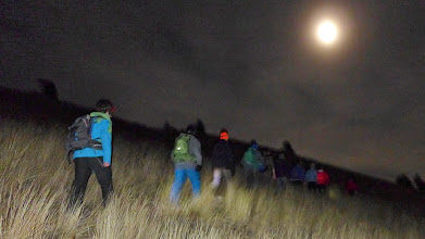 Photo: With the HHS Outdoors Club on the Ridge Trail - Friday, Dec. 5