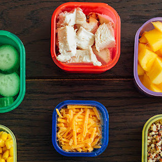 No-Cook Salad and Snacks