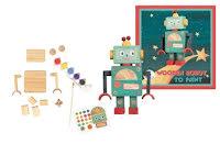 Bygg och måla robot, DIY