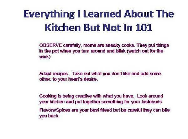 Not A Recipe