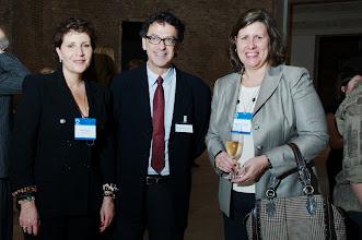 Photo: Denise Aguiar, Marcelo Araujo e Angela Dannemann. (Crédito: Romeo Campos)