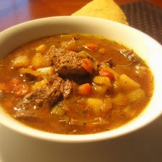 Healthy Venison Stew.