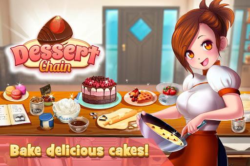 Dessert Chain: Cafu00e9 Waitress & Restaurant Chef 0.8.10 screenshots 1