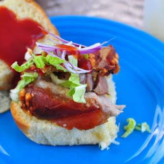 Rotisserie Barbecued Pork Belly Recipe