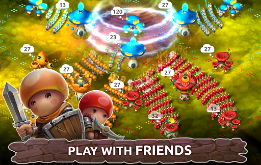 Mushroom Wars 2: RTS Tower Defense & Mushroom War 3.17.2 screenshots 1