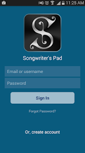 Songwriter's Pad™- Songwriting- screenshot thumbnail