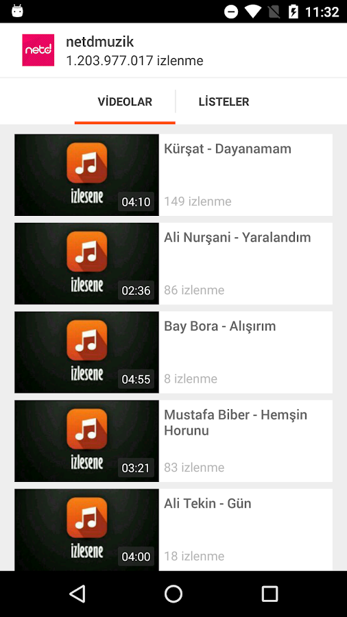 İzlesene- screenshot
