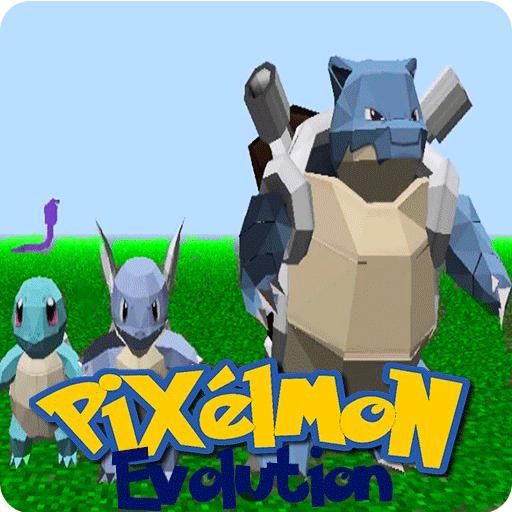 Pixel Pokemons World:Evolution 冒險 App LOGO-硬是要APP