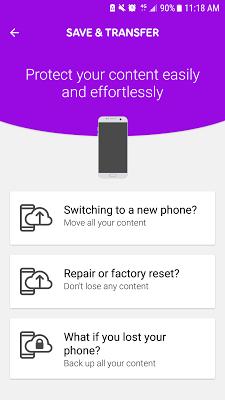 Telia Min Mobil - screenshot
