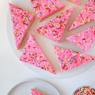 Frosted Soft Sugar Cookie Bars