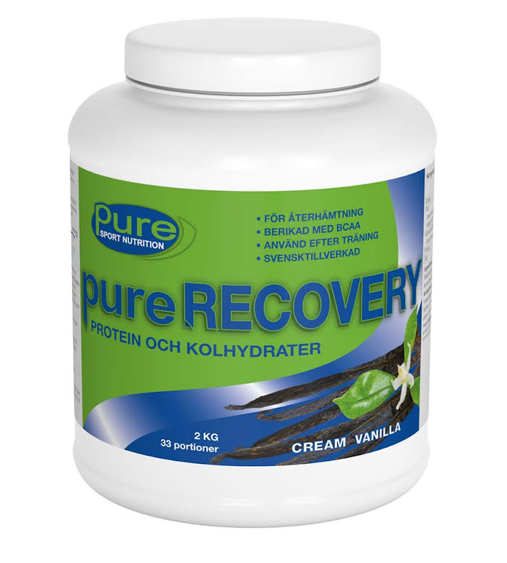 pure RECOVERY – Protein och kolhydrater