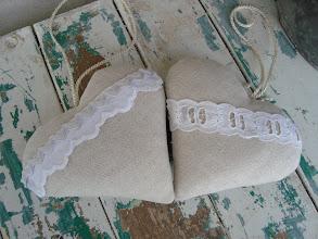 Photo: cuori con imbottittura e lavanda piccoli