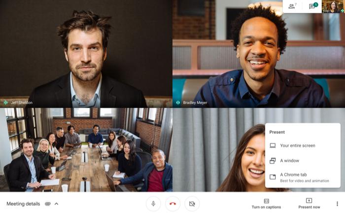Tính năng mới trong Google Meet 5