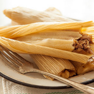 Green Chile Chicken Tamales.