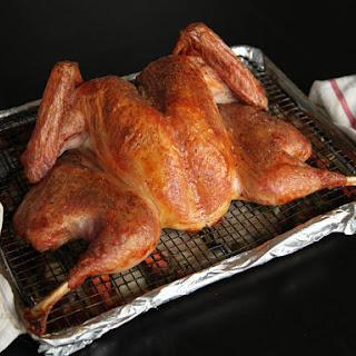 Crisp-Skinned Butterflied Roast Turkey With Gravy