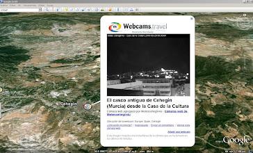Photo: Las webcams de meteoCEHEGIN4U disponibles en Google Earth a nivel MUNDIAL!